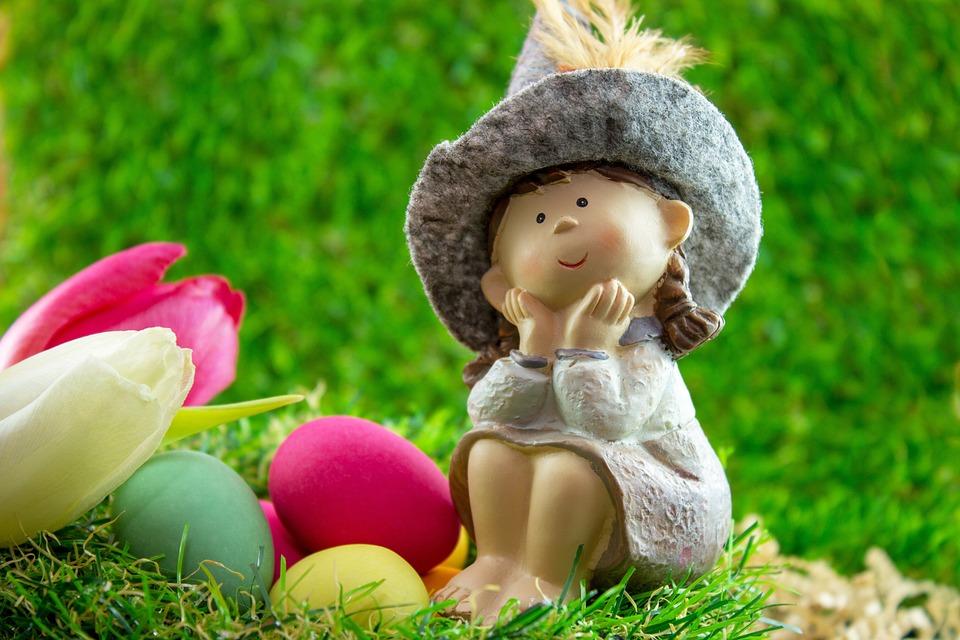 Easter, Egg, Figure, Easter Eggs, Colorful