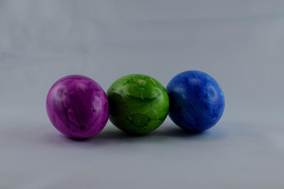 Easter Eggs, Egg, Colorful Eggs, Boiled Eggs