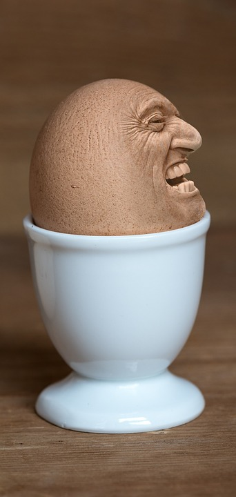 Iman, Face, Egg Face, Egg Cups, Food-photography
