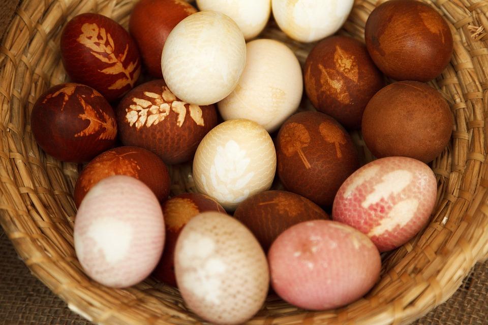 Basket, Brown, Celebration, Decoration, Easter, Egg