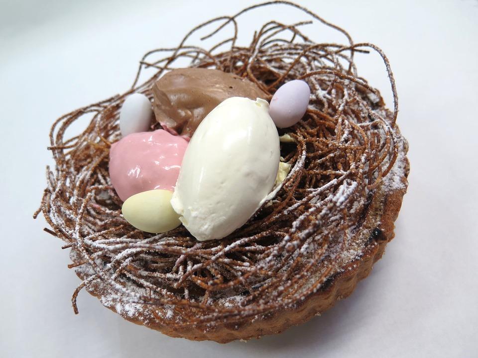 Easter, Pack, France Confectionery, Egg, Cake, Brule