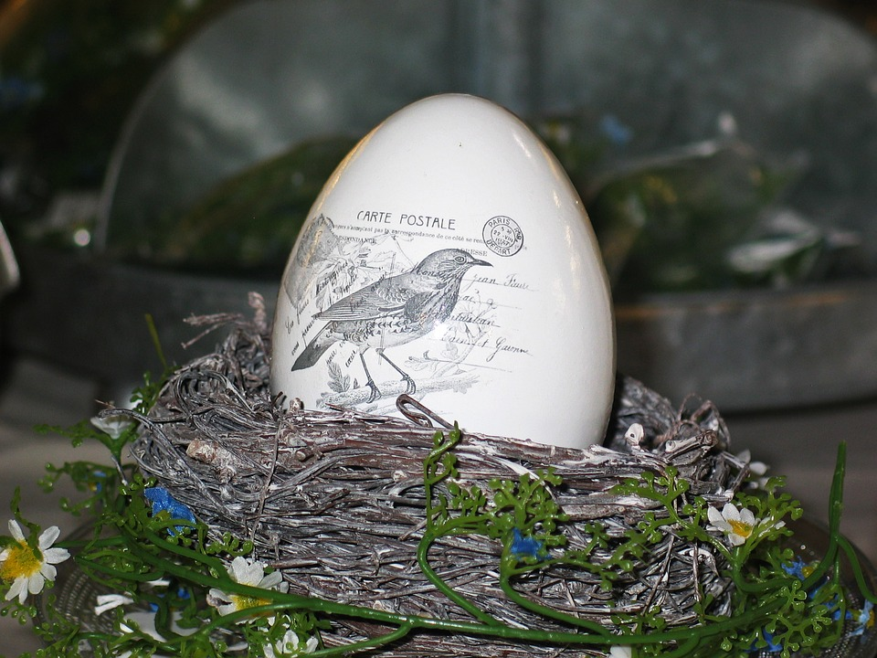Easter Egg, Porcelain, Egg, Decoration, Easter