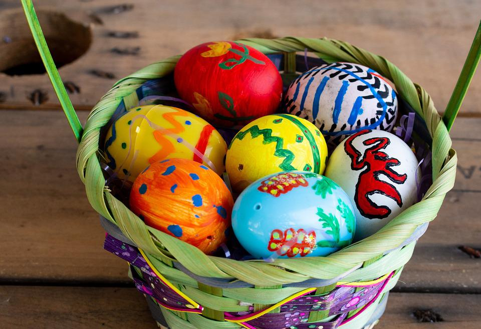 Eggs, Easter, Easter Eggs, Egg, Holiday, April, Painted