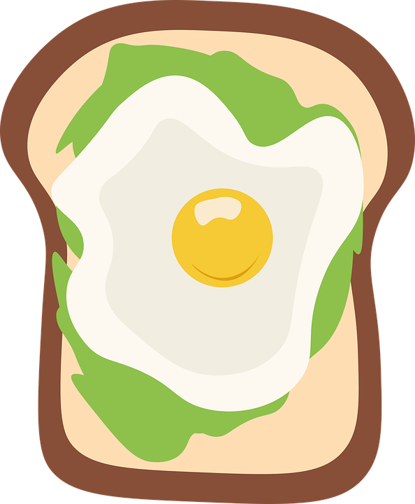 Egg Sandwich, Breakfast, Food, Toast, Bread, Egg