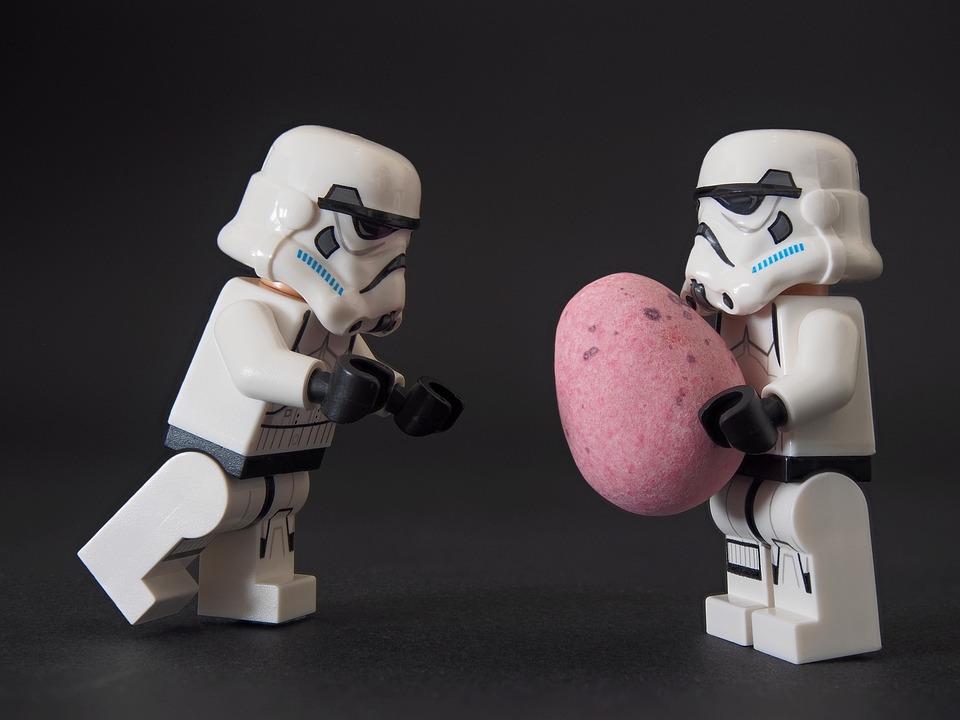 Easter, Egg, Lego, Stormtrooper, Gift, Present, Empire