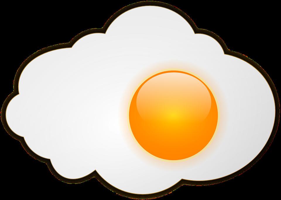Egg Sunny-side Up, Fried Egg, Breakfast, Egg, Food