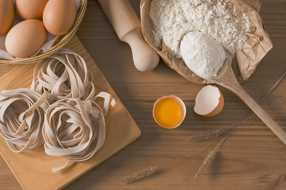 Pasta, Fettuccine, Food, Italian Gastronomy, Eggs