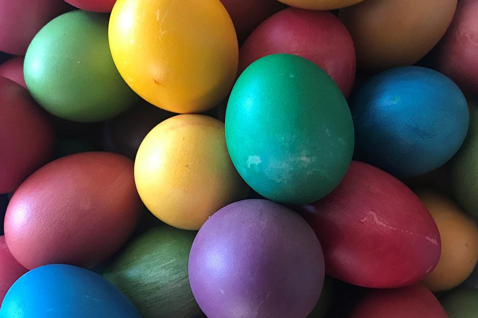 Eggs, Easter, Eggs Painted