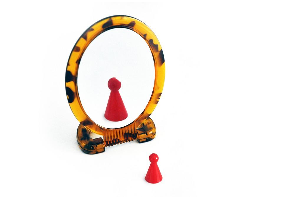 Mirror, Self, Egocentrism, Look, View, Larger, Best, I