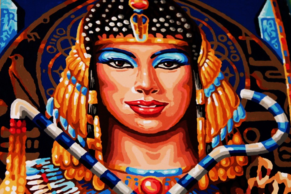 Egypt, Woman, Pharaonic, Art, Painting