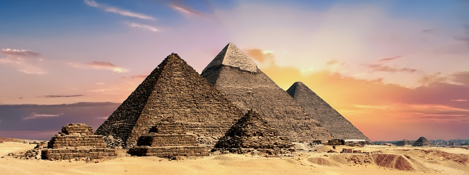 Pyramids, Egypt, Banner, Header, Egyptian, Ancient