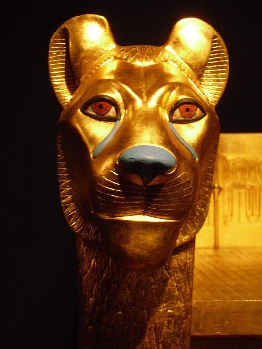 Egypt, Exhibition, Bust, Egyptian, Museum