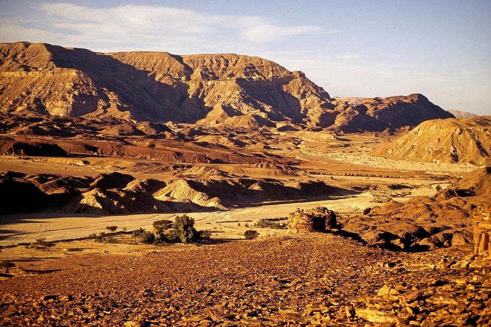 Sinai, Desert, Egypt, Travel