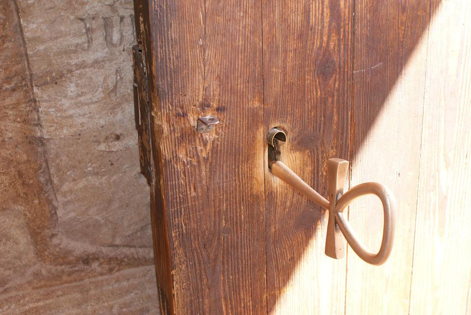 Door, Key, Egypt