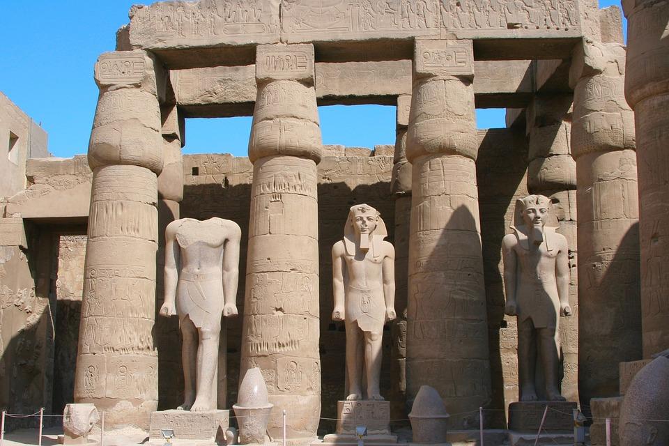 Egypt, Luxor, Karnak Temple, Hieroglyph, Ancient