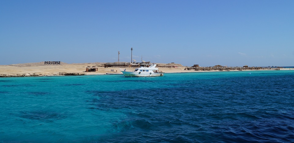 Sea, Egypt, Ship, Island, Giftun, The Red Sea