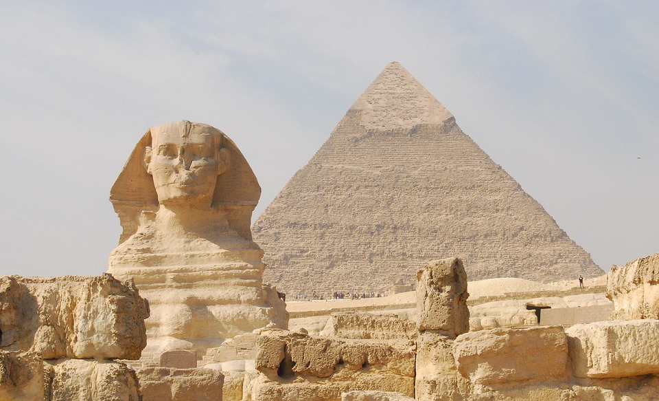 Egypt, Pyramid, Sphinx