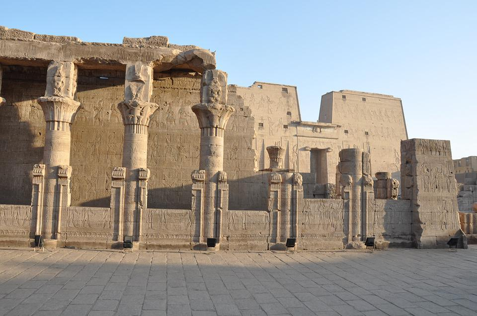 Edfu, Temple, Egypt, Pharaoh, Luxor, Travel, Nile