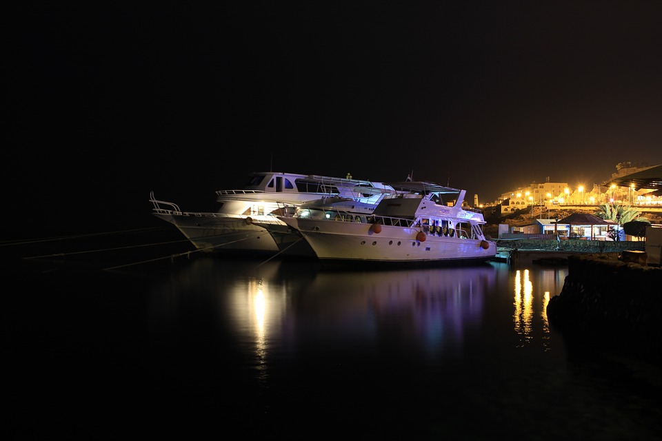 Yachts, Boats, Egypt, Hurghada, Red Sea