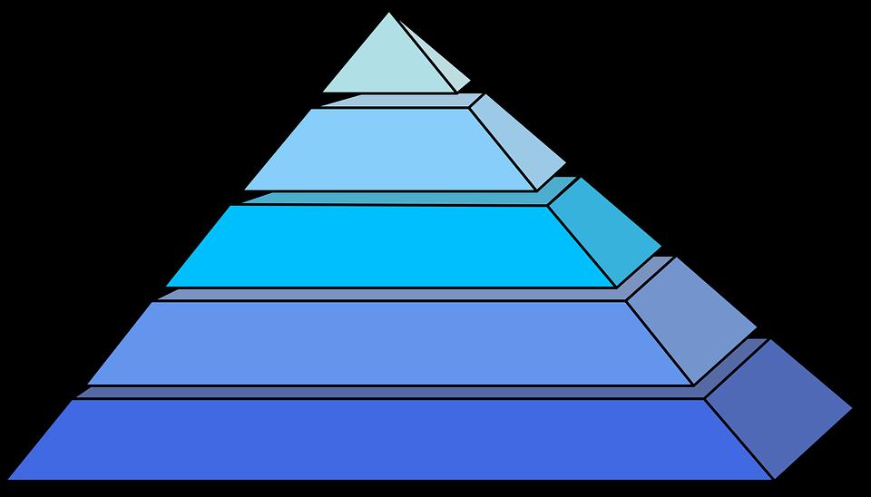 Pyramids, Blue, Shape, Egyptian, 3d, Monument, Tourism