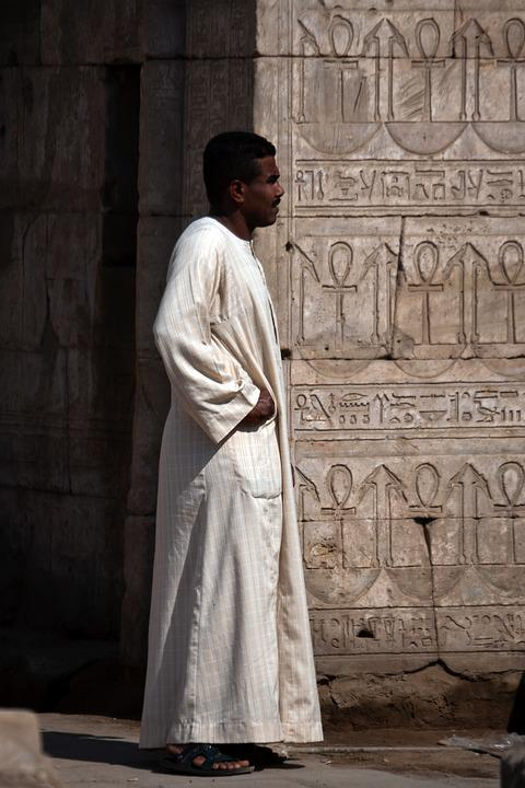 Egyptian, Man, Person, Oriental, Traditional Wear