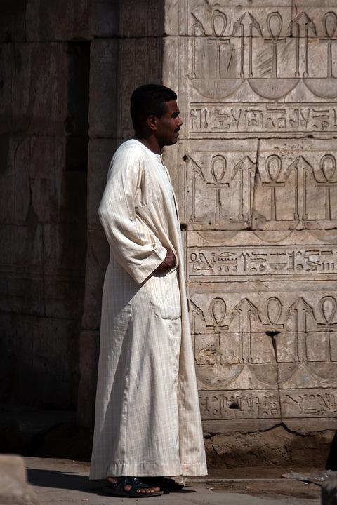 Egyptian, Man, Person, Oriental, Traditional Wear