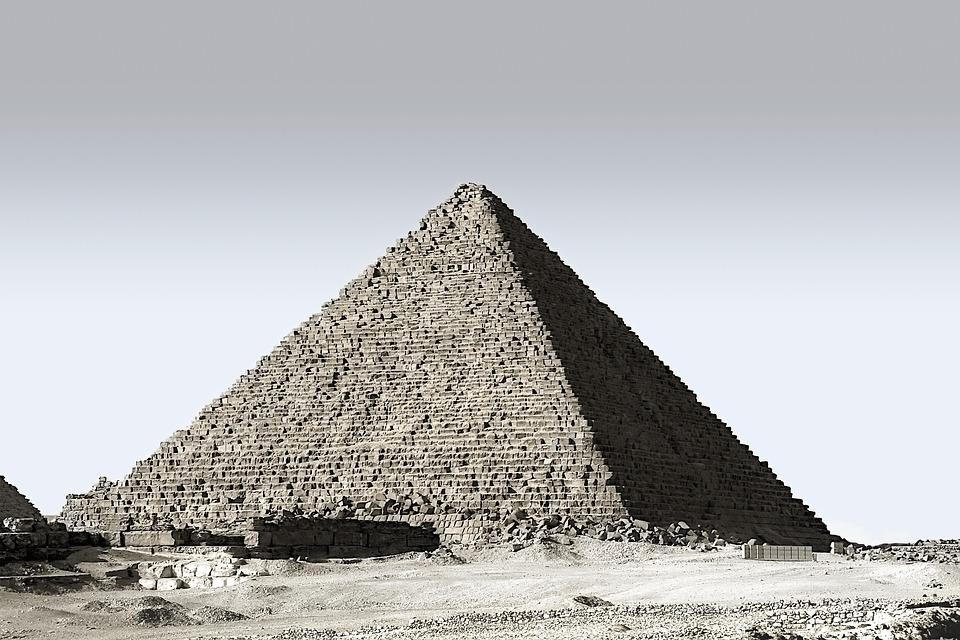 Pyramid, Egypt, Pharaonic, Egyptian, Tomb, Egyptians