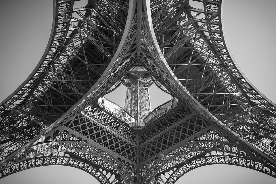 Tower, Eiffel, France, Architecture, Europe, French
