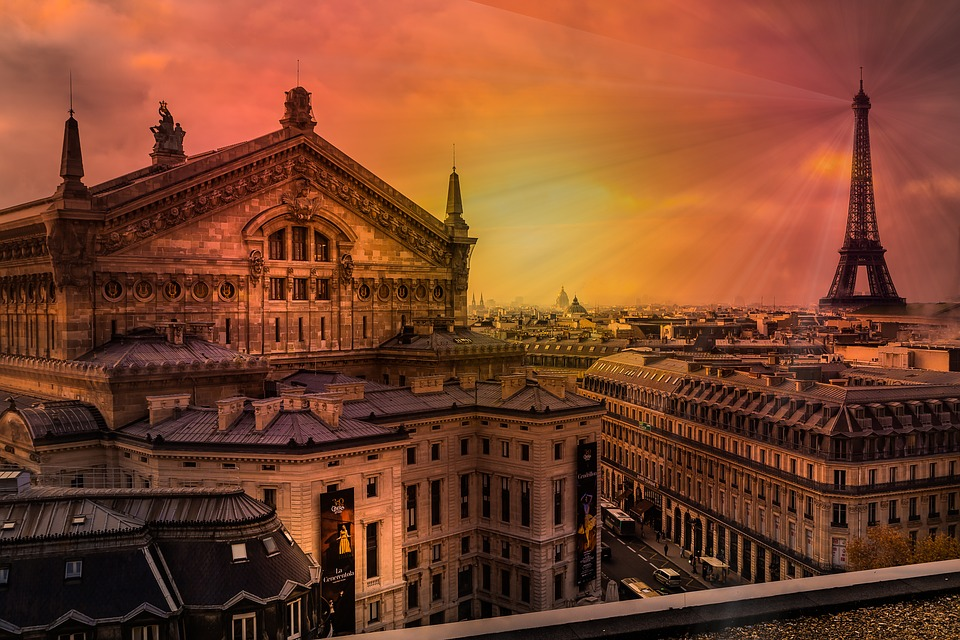 Paris, Eiffel Tower, France, City, Travel, Symbol