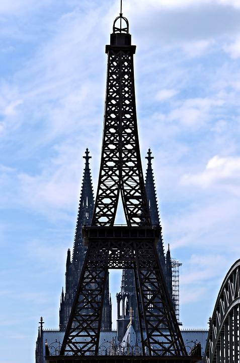 Cologne Cathedral, Eiffel Tower, Cologne, Landmark, Dom