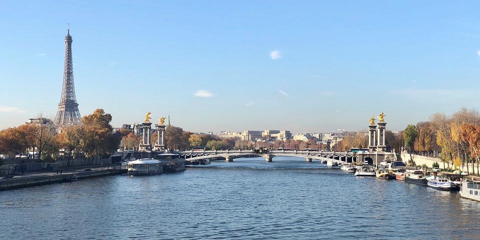 France, Paris, River Seine, Eiffel Tower, Landmark