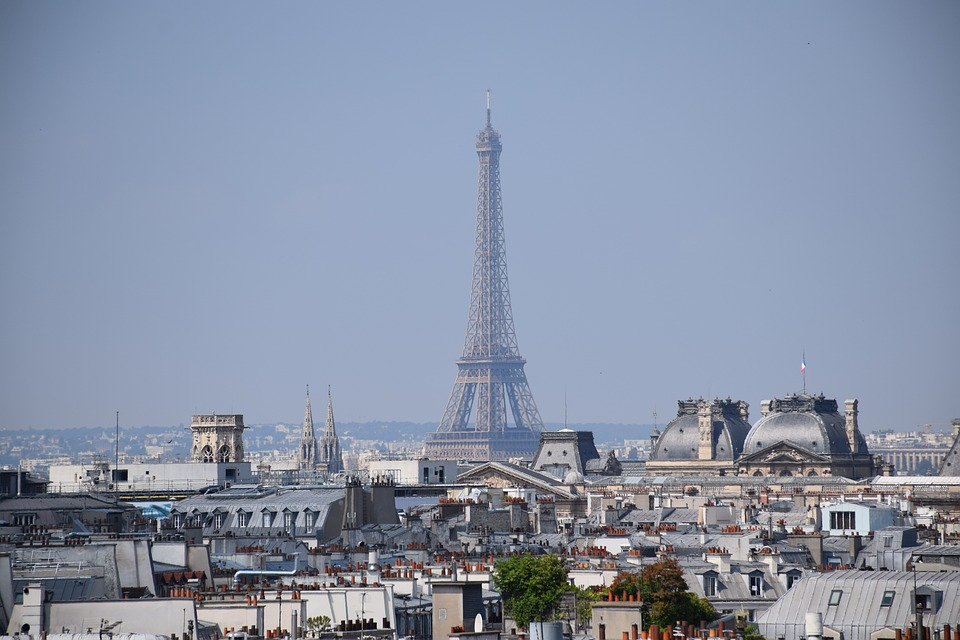 Eiffel Tower, Tower, Paris, France, Places Of Interest