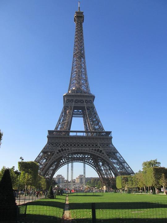 Eiffel Tower, French, Paris, Tourist Attraction