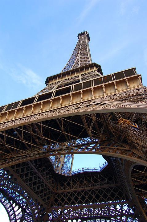 Paris, Eiffel, France, Landscape, Eiffel Tower