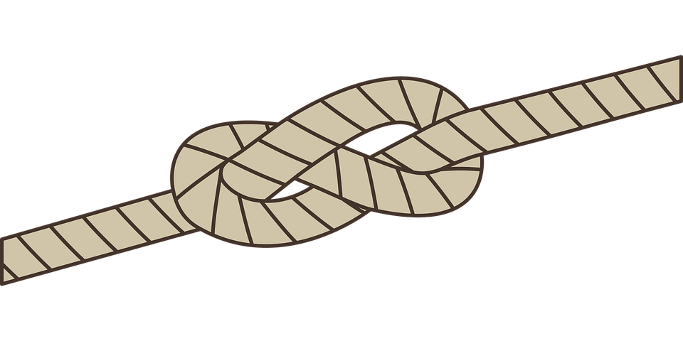 Eight-node, Eighth Node, Eight Loop, Knot, Rope, Dew