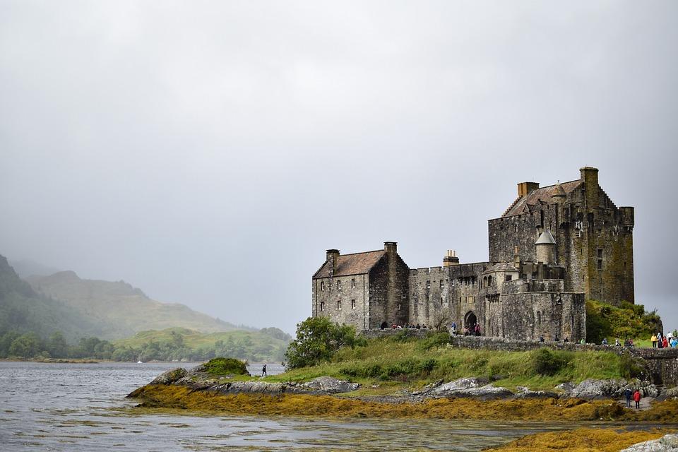 Eilean Donan Castle, Castle, Scotland, Solitary