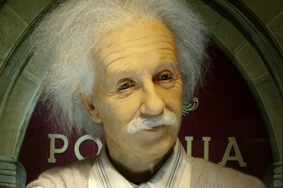Einstein, The Museum, Figure Of Wax