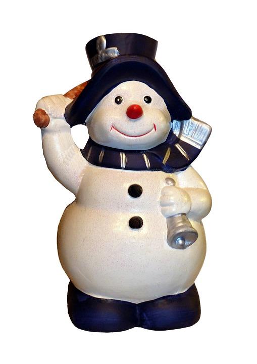 Snow Man, Christmas, Snow, Eismann, Snowmen, Winter