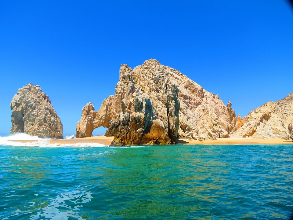El Arco, Cabo, Mexico, Beach, Ocean, Sky, Water, Coast