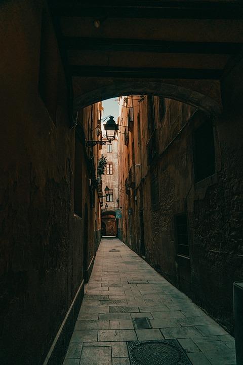 El Born, Alley, Village, Old Town, Houses, Buildings