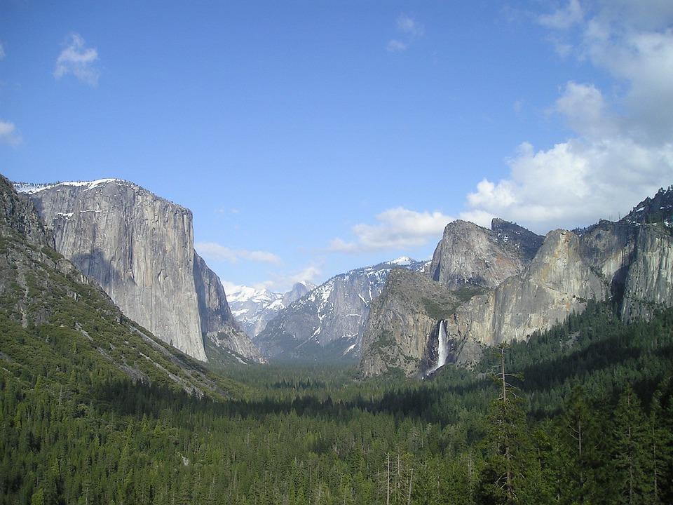 Usa, Yosemite, National Park, El Capitan