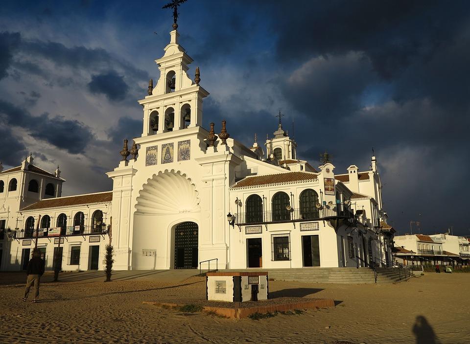 El Rocio, Church, Cathedral, Spain, Architecture