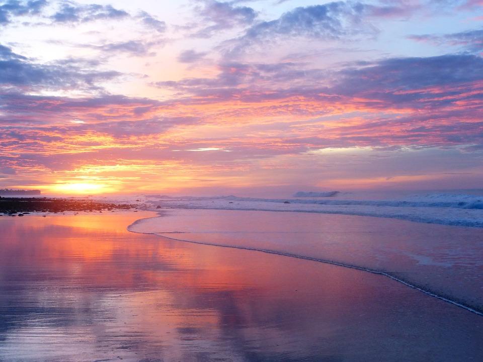 El Tunco, Beach, El Savador, La Libertad, Sunrise