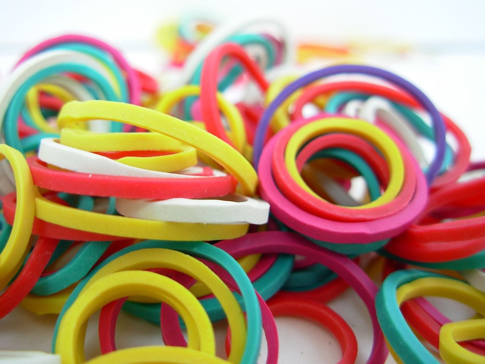 Rubber Bands, Band, Bands, Rubber, Colors, Elastic