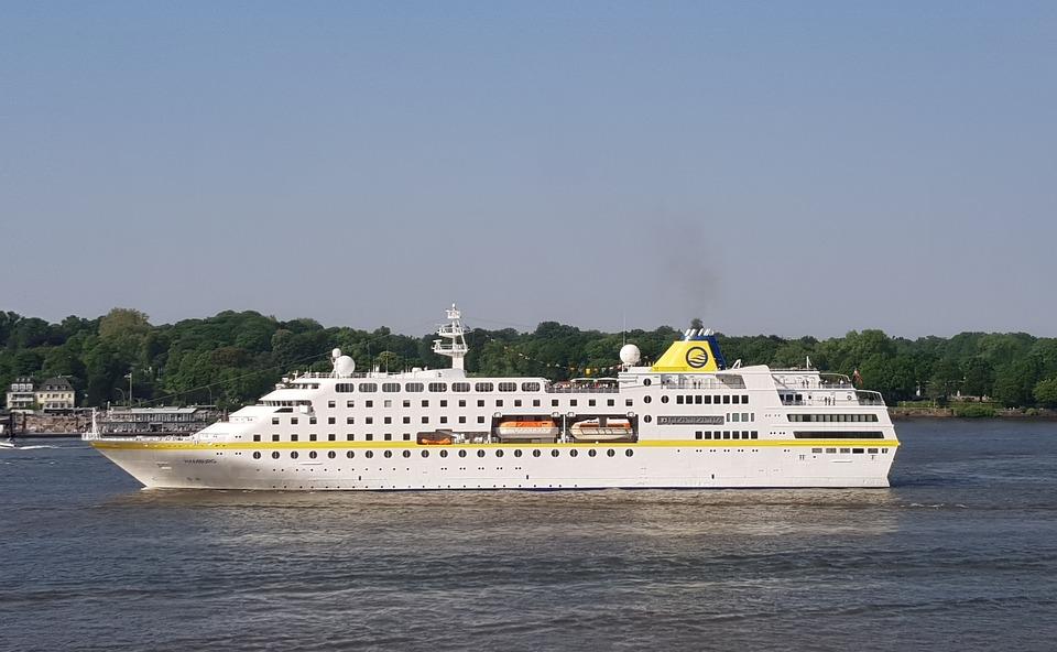 Mshamburg, Cruise Ship, Hamburg, Elbe, Cruise, Ships