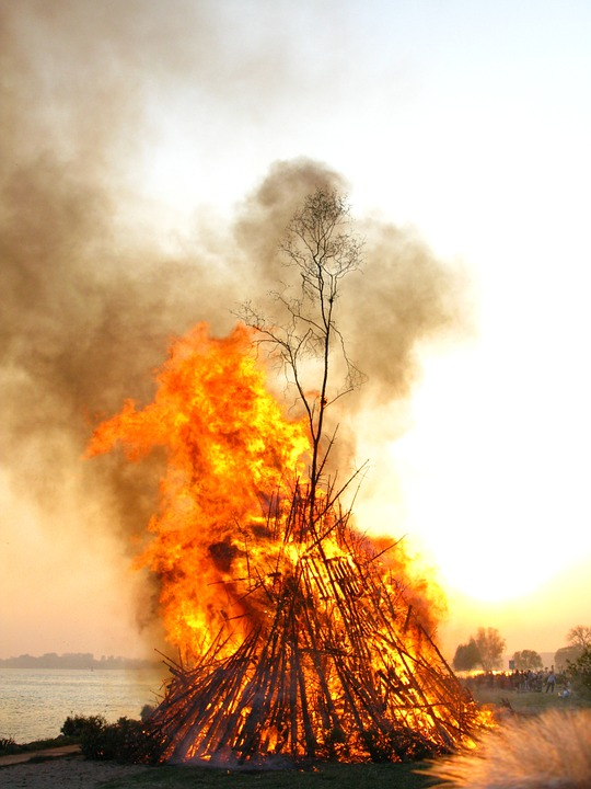 Easter Fire, Elbe, Fire