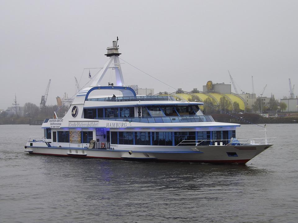 Harbour Cruise, Elbe, Passenger Ship