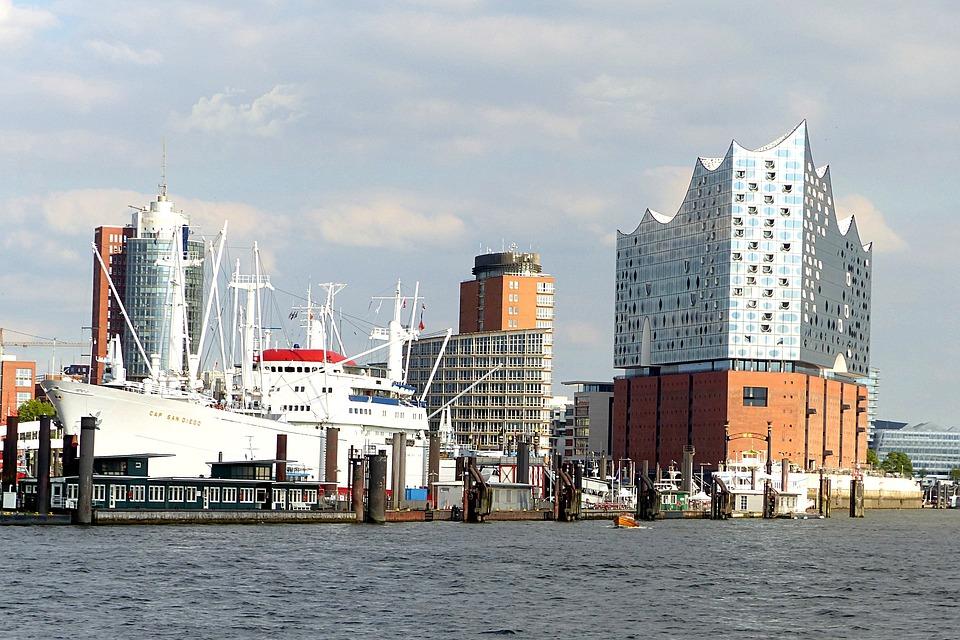 Building, Elbe Philharmonic Hall, Concert Hall, Hamburg
