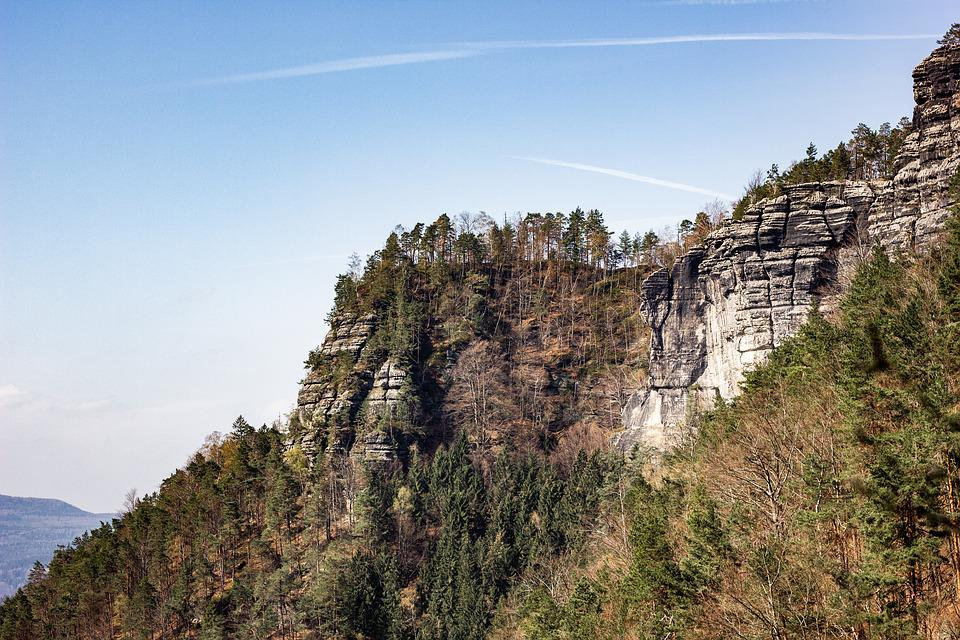 Elbe Sandstone, Travel, Nature, View, Mountains