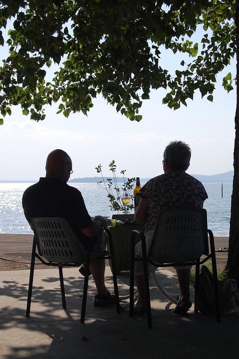 Elderly, Trasimeno, Lake